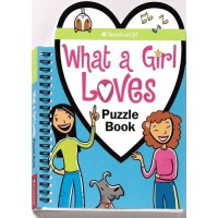 What a Girl Loves Puzzle Book