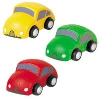 PlanToys 3-Piece Car Set