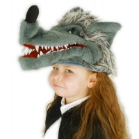 Big Bad Wolf Hat / Puppet