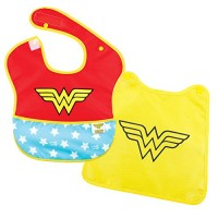 Wonder Woman Bib with Cape