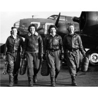 WWII Women Pilots Poster