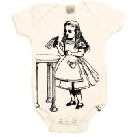 "Alice in Wonderland ""Drink Me"" Onesie"