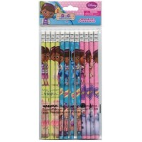 Doc McStuffins Pencils 12-Pack