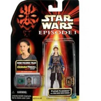 Padme with Pod Race View Screen Action Figure