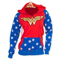 Wonder Woman Crown Hoodie