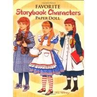 Favorite Storybook Characters Paper Dolls