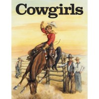 Cowgirls Coloring Book