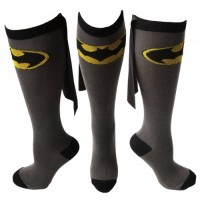 Batgirl Caped Knee Socks