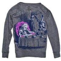 Alice in Wonderland Tea Party Long Sleeve Shirt