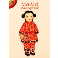 Mei-Mei from China Sticker Doll