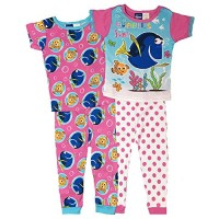 Finding Dory Toddler Pajamas 2-Pack