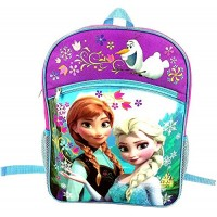 Frozen Anna, Elsa, and Olaf Backpack