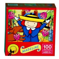 Madeline Playing in the Garden Puzzle