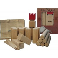 Kubb Game Original Red King