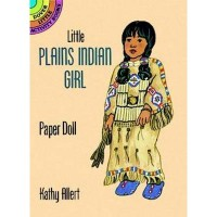 Little Plains Indian Girl Paper Doll