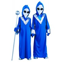 Blue Alien Costume