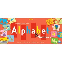Alphabet and Number Puzzle Pairs