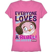 Angry Birds Star Wars Everyone Loves a Rebel T-Shirt