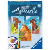 Aquarelle Horses Easy Watercolor Kit