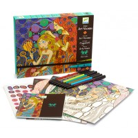 Art Nouveau Coloring Workshop