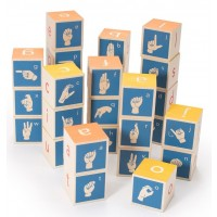 American Sign Language Alphabet Blocks