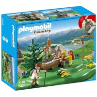 Playmobil Backpacker Family