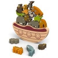 Balance Boat: Endangered Animals