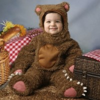 Infant/Toddler Deluxe Bear Costume