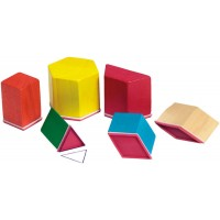 Pattern Block Rubber Stamps