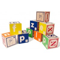 Braille ABC Blocks with American Sign Language