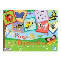 Bugs and Butterflies Travel Matching Game
