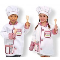 Melissa and Doug Chef Costume Set