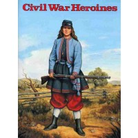 Civil War Heroines Coloring Book