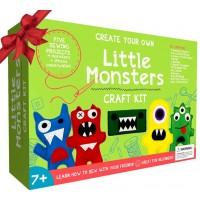 Little Monsters Beginners Sewing Kit