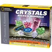 Earth Science Kit: Crystals, Rocks, and Minerals