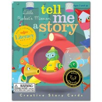Tell Me a Story Card Game - Little Robots Mission