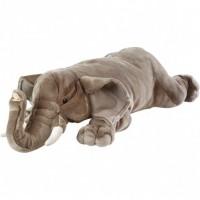 Jumbo African Elephant Plush