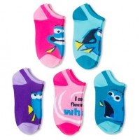 Finding Dory Little Girls' Socks 5-Pack