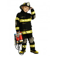 Firefighter Suit with Helmet