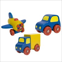 Wooden First Vehicles Set