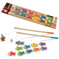 Let's Go Fishing Magnetic Fishing Game