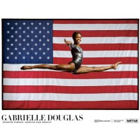 Gabby Douglas American Gold Medalist Poster