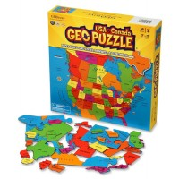 Geography Puzzle: North America