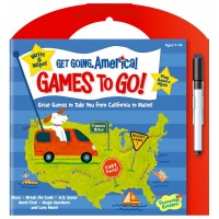 'Get Going, America' Write & Wipe Activities