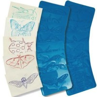 True Insect Rubbing Plates, Set of 16
