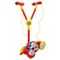 Kids Karaoke Stage Microphone Set