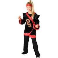 Red Dragon Ninja Costume
