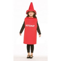 Ketchup Bottle Costume