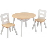 Children's Round Table and Chair Set