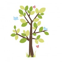 Giant Tree Wall Decal